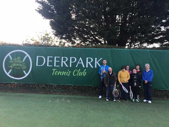 St Michaels tennis Coaching at Deerpark tennis club